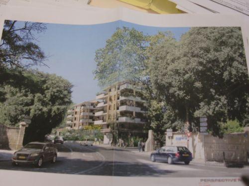 Immeuble rue des camoins