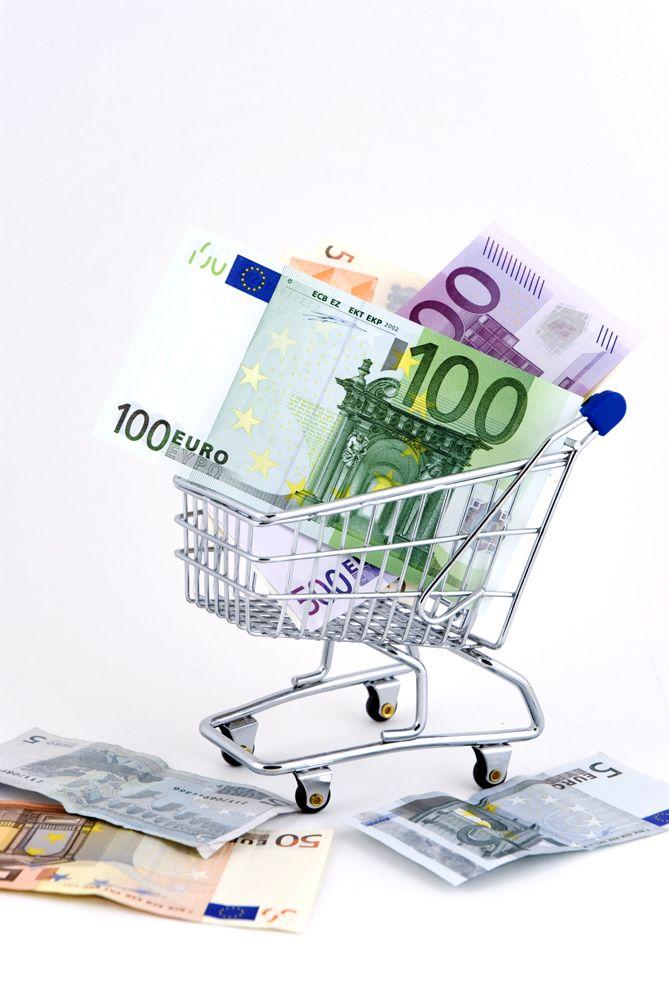 Chariot et euros