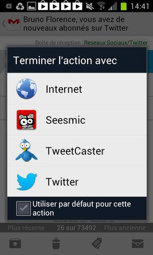 Twitt application