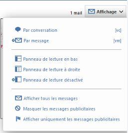 Sélection webmail