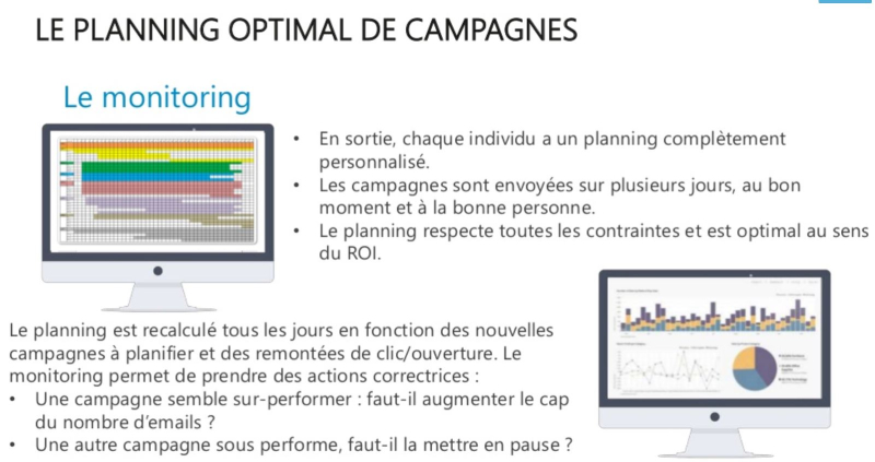 Optimisation palnning campagne 3