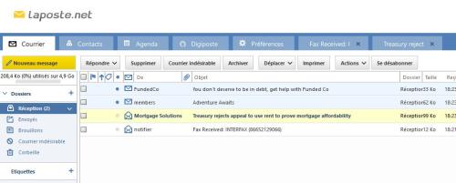 Webmail laposte