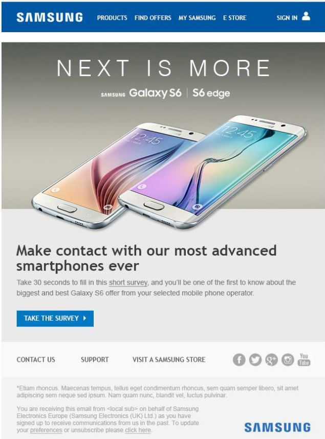 Capture samsung email 2