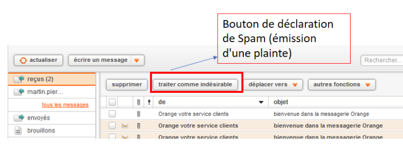 Webmail orange
